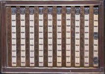 Photo de la Calcolatore tabulare meccanico.