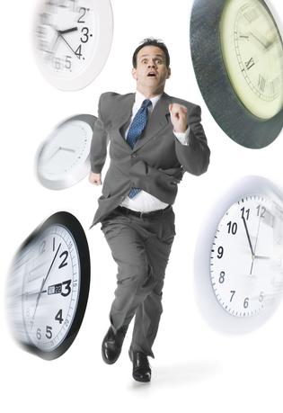 Le temps qui courre