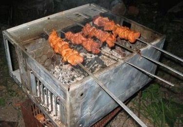 Unité centrale barbecue