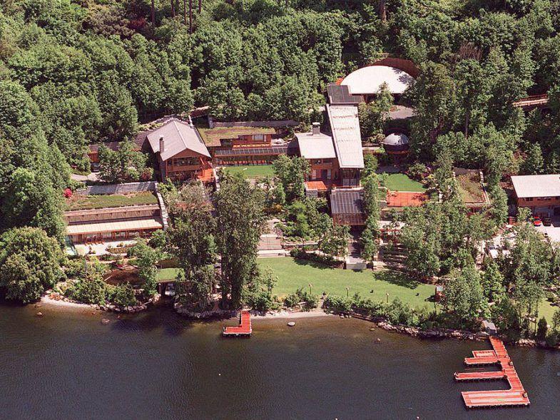 Maison de Bill Gates fondateur de Microsoft.