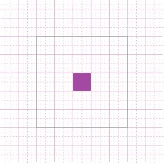 Intersection d'une ligne et d'une colonne.